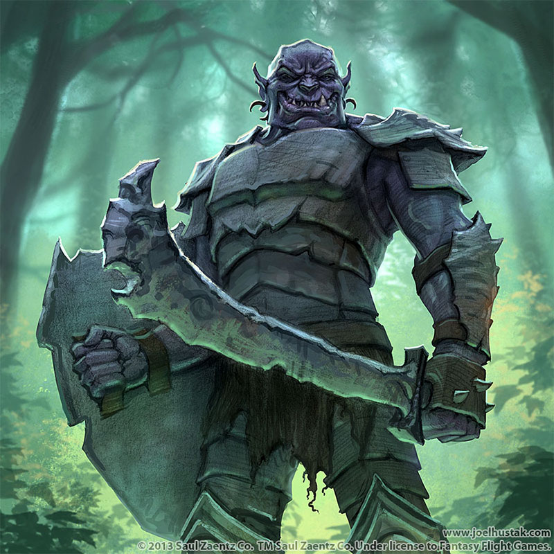 Lord Of The Rings Warhammer Uruk Hai Captain