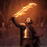 Beric Dondarrion by joelhustak