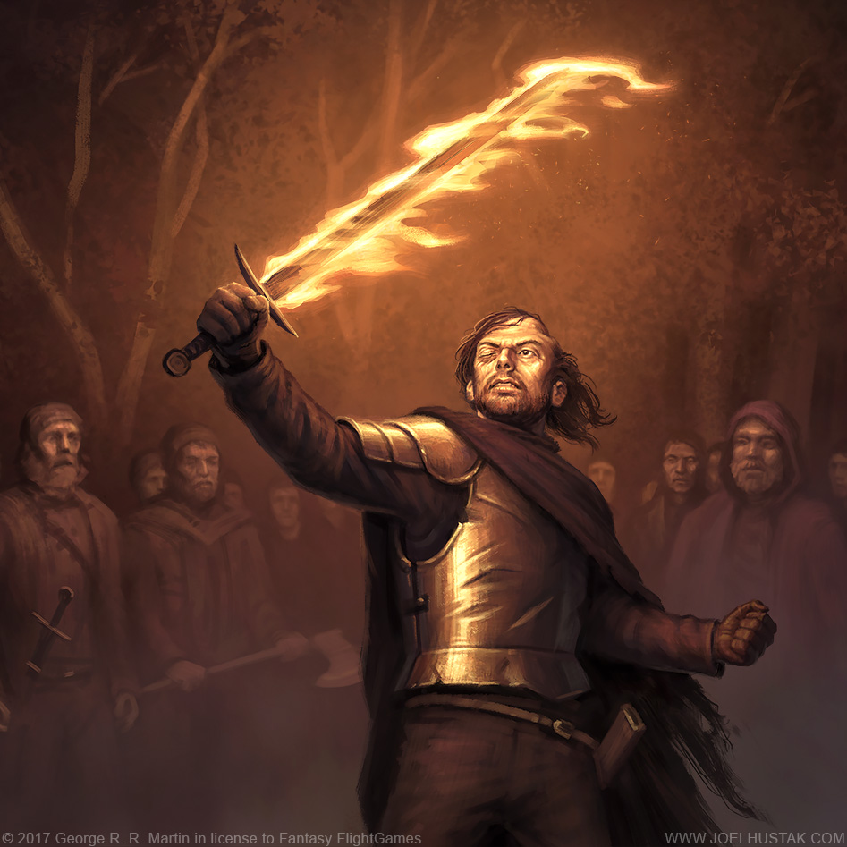 Beric Dondarrion by joelhustak