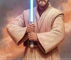 Obi-Wan's Lightsaber by joelhustak