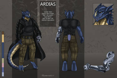 Reference sheet commission for Ardias