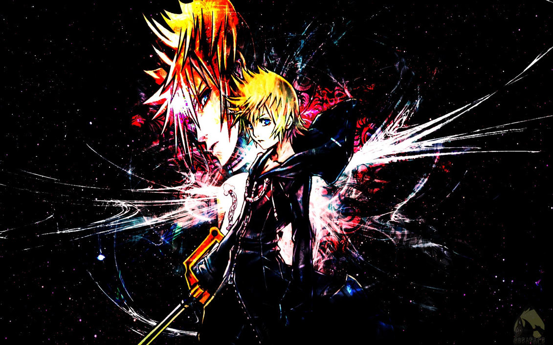 Roxas Wallpaper By Greatace07 On DeviantArt
