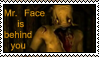 Mr. Face stamp by SwanRose