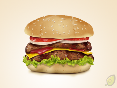 Hamburger Icon Free PSD by pixtea
