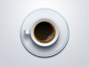 Cup of Coffee Free Psd and Png Icon