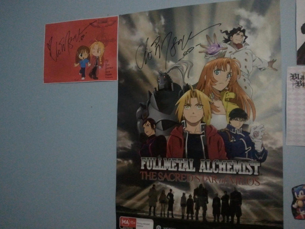 Vic Mignogna autograph 1 by Amy-Oh