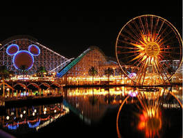 Disneyland Night Life by HiddenMask24