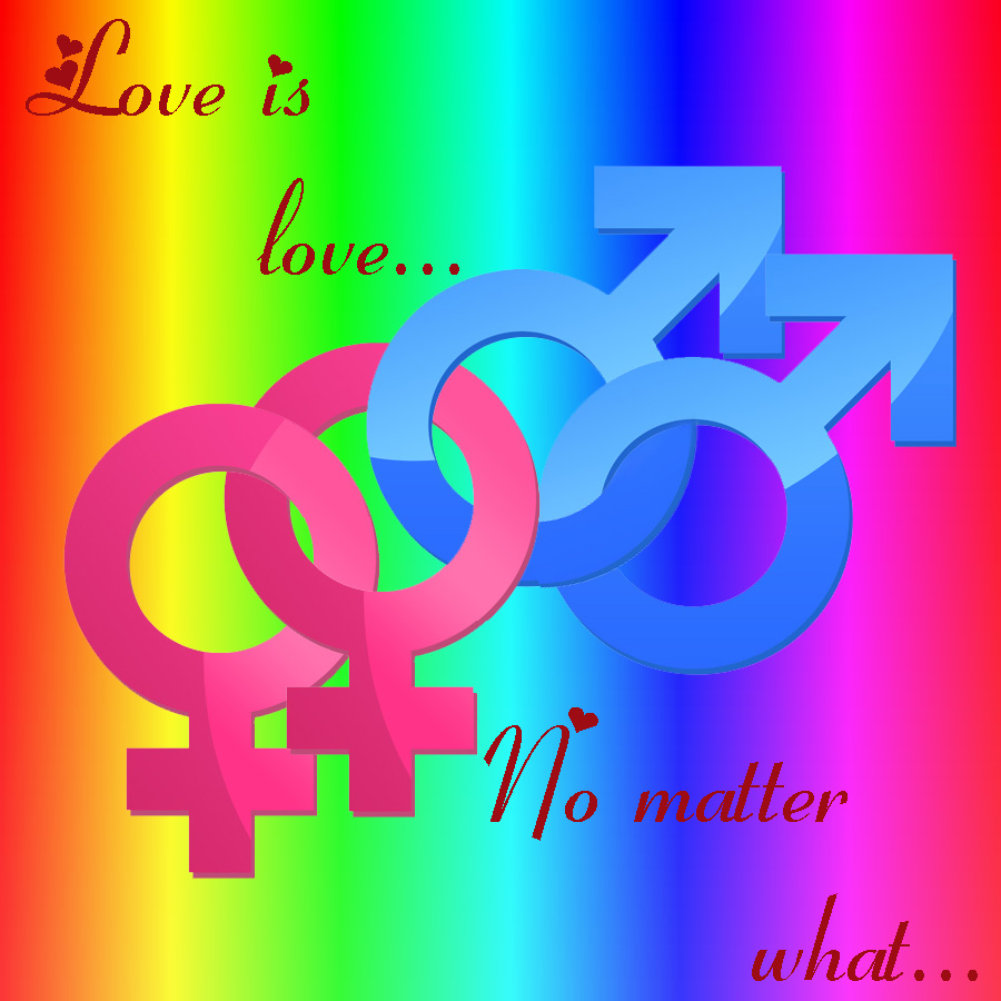 Love No Matter What: Love Is Love..No Matter What.. By Guardianwolf666 On