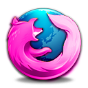 Pink Firefox Icon by PinkLovin