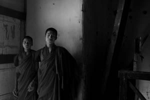 2 monks.... by bingbing51