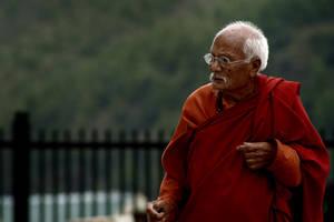 An elderly devotee... by bingbing51