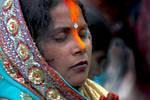 Woman devotee