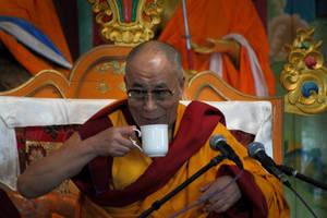 His Holiness, the Dalai Lama by bingbing51