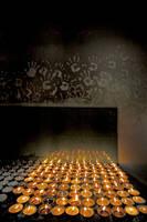 Tibetan butterlamps by bingbing51