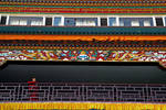 Young monk at Sakya Monastery by bingbing51