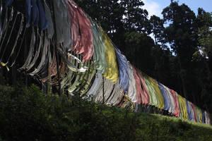 Tibetan prayer flags.... by bingbing51