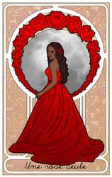Une Rose Seule by triola