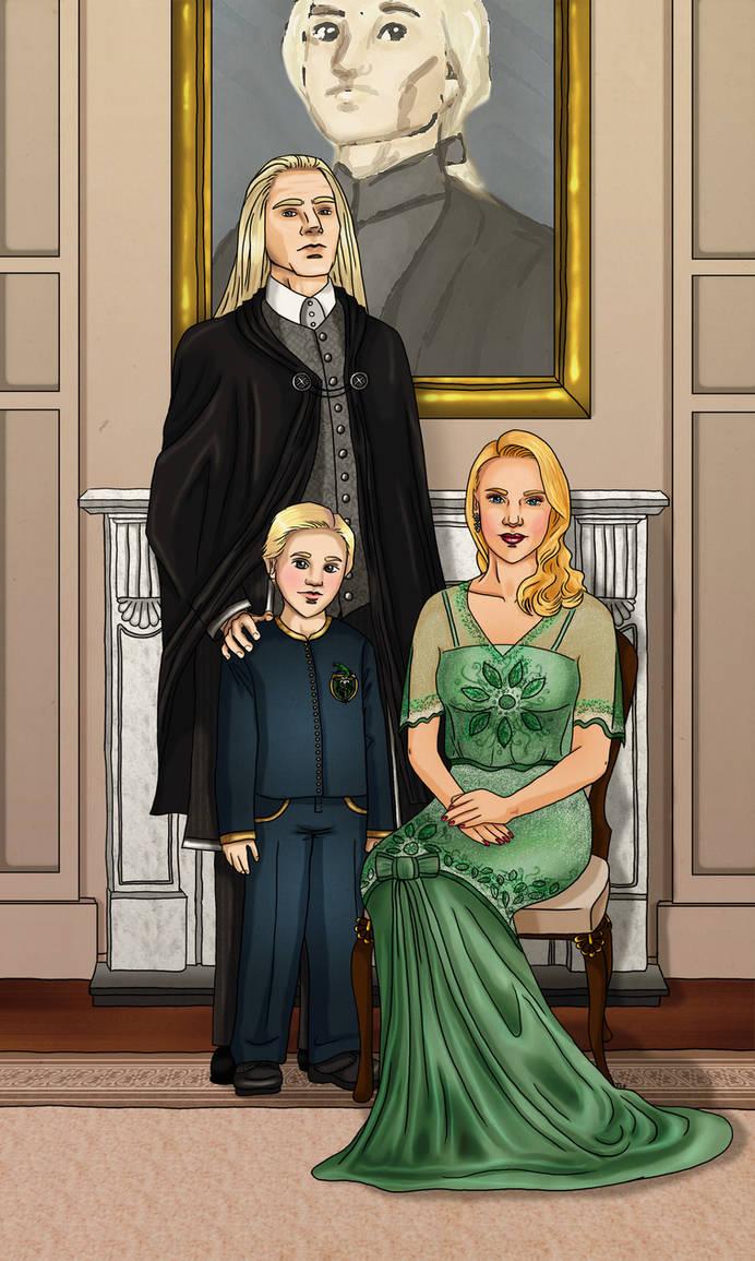 Malfoy Family by triola