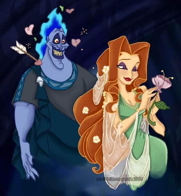 Hades and Persephone colour by HArt1