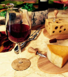 Wine and Cheese (remastered) by mission-vao
