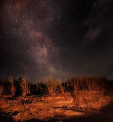 Night at the sea by mission-vao