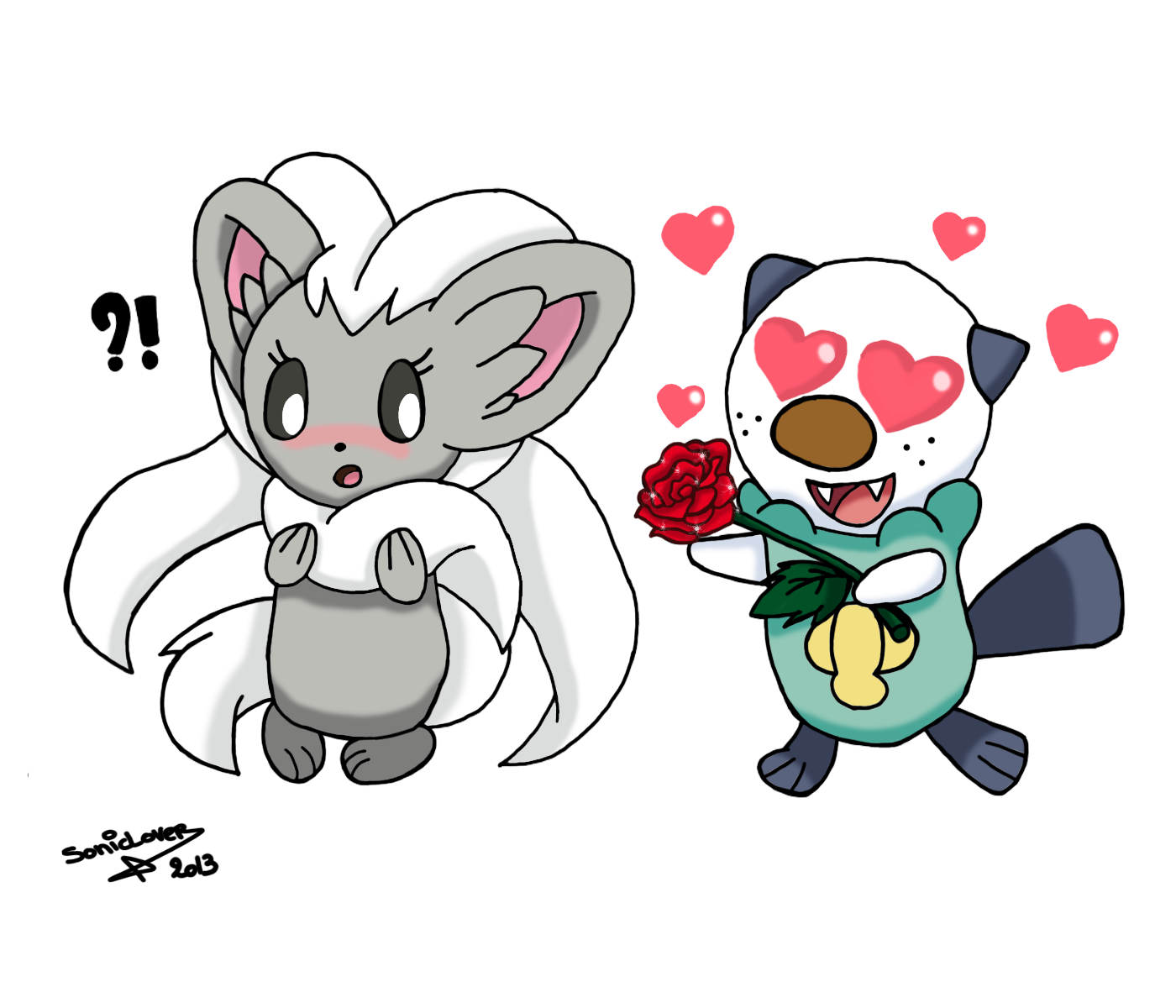 ~ Oshawott Loves Cinccino by XxSonicLoverxX on DeviantArt