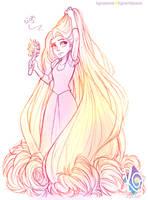 Rapunzel - Hair problem #925787522 by KGxspace