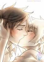 Free! - Reigisa finally kiss again