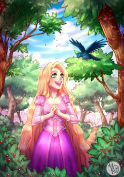 Rapunzel's New Days