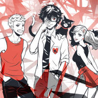 Persona 5 Sketch by KGxspace