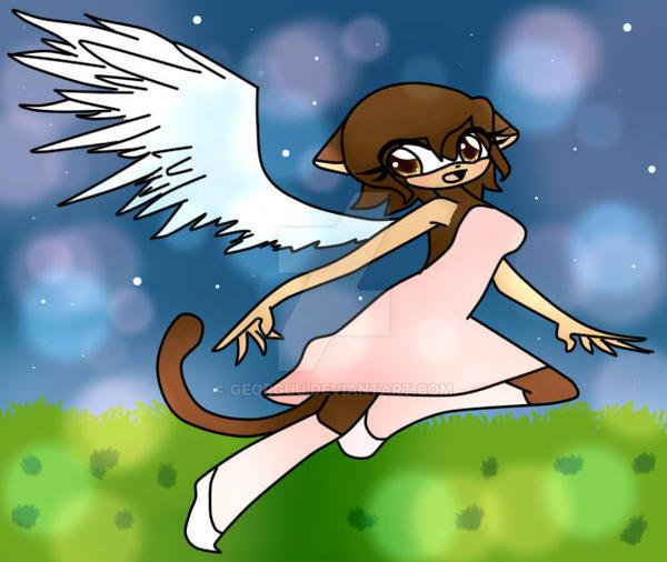 Angel by Georguu