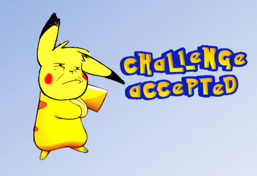 Pikachu Challenge accepted