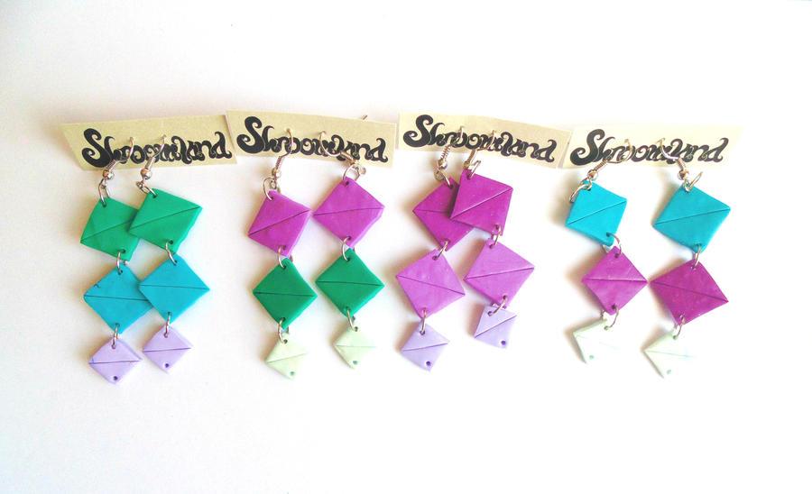 Earrings by shandio