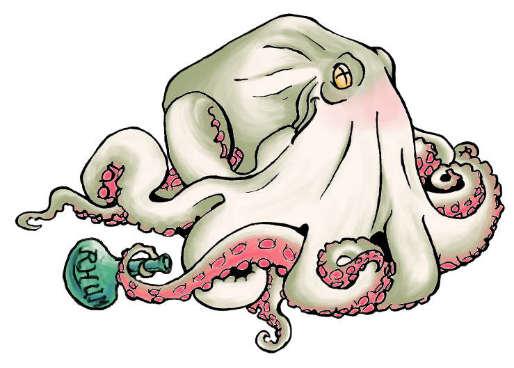 Octopus (transparent bg) by Gulby