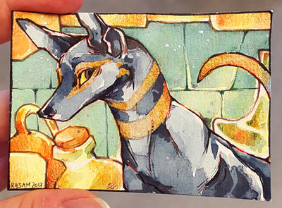ACEO : Kashmir by RajahACEO