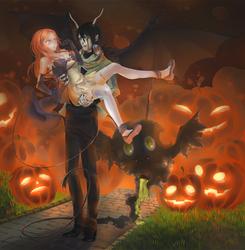 Ulquihime Halloween by OrangeAkaSuna