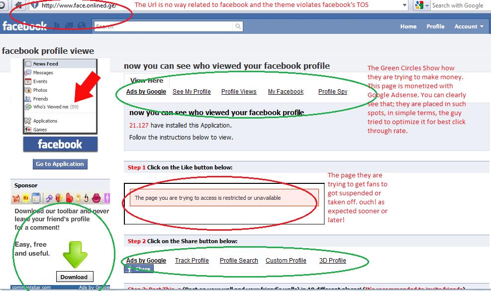 hass associates, QA: How to avoid Facebook scams? by lislecann