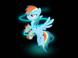 Rainbow Dash has the power by 505054