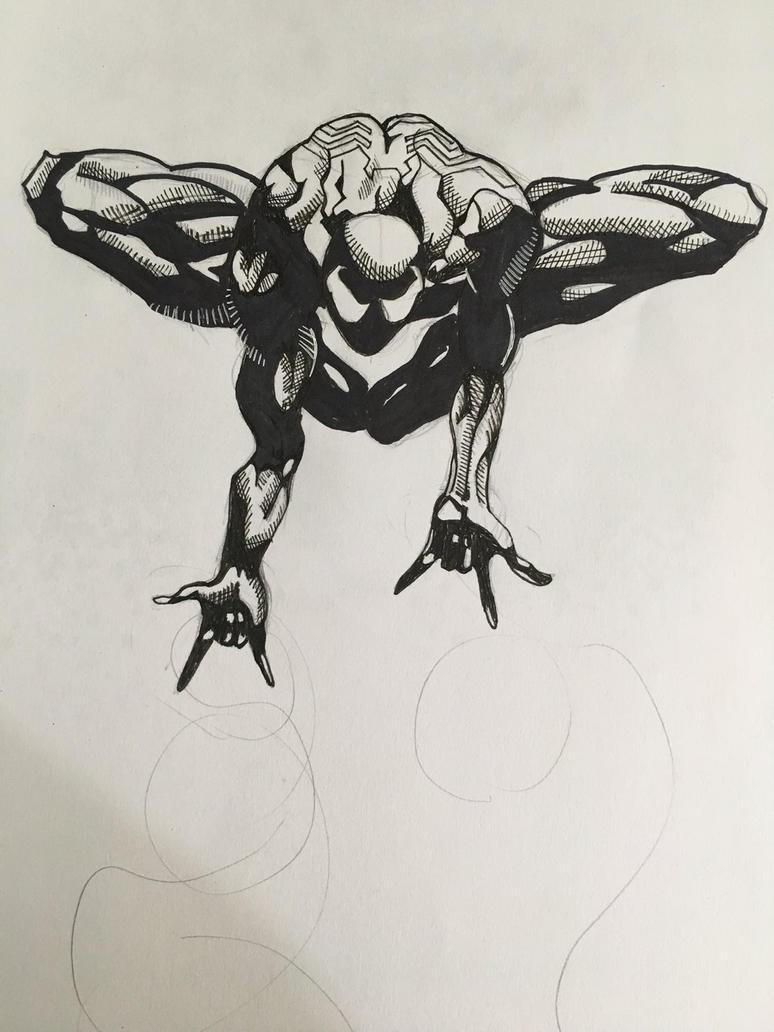 Black Spiderman by JayJArt16