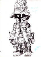 Final Fantasy Black Mage. by Berichan