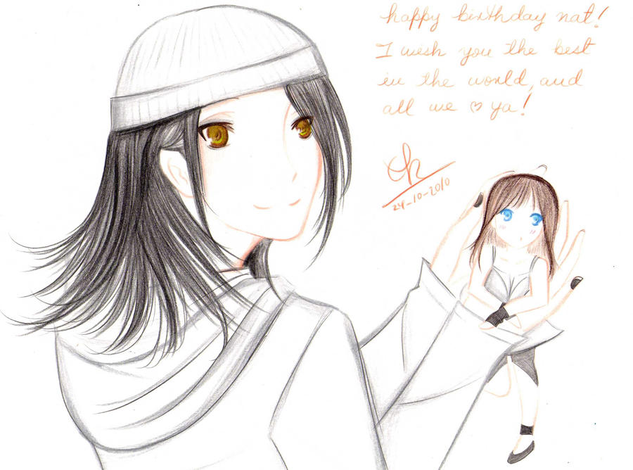 Happy Birthday to you. by Berichan