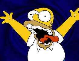 No TV and no beer make Homer.. by Shadz-the-Fox
