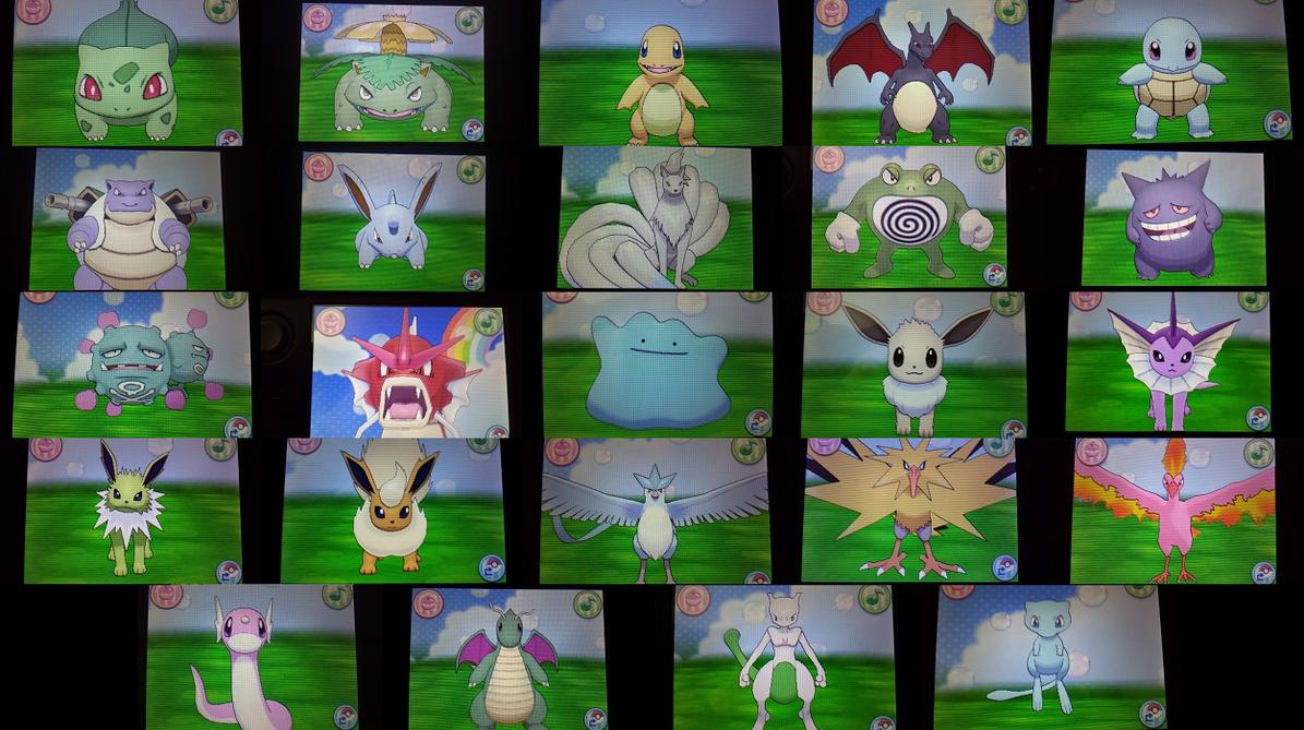 My shiny Pokemon (Kanto, updated) by Shadz-the-Fox on ...