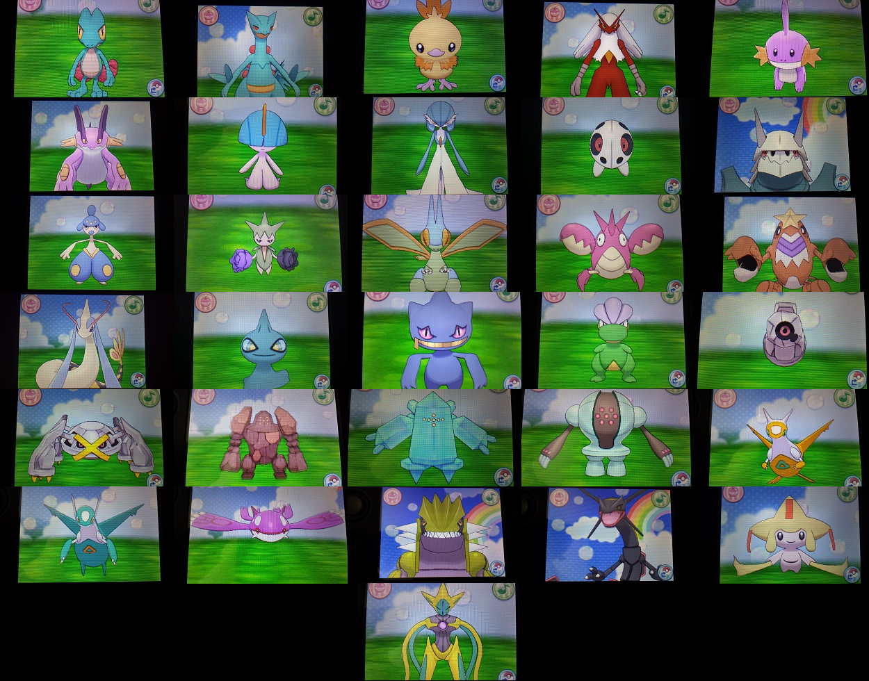 My shiny Pokemon (Hoenn, updated) by Shadz-the-Fox on ...