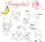 Request Stream Sketches!
