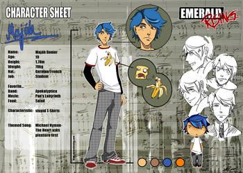 ER Character Sheet - Majah by Zanaffar