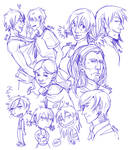 Emerald Rising Sketchdumb by Zanaffar