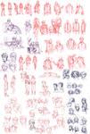 Sketchdump February 2014 by Zanaffar