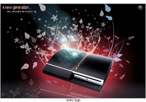Playstation 3 by Strifestyle