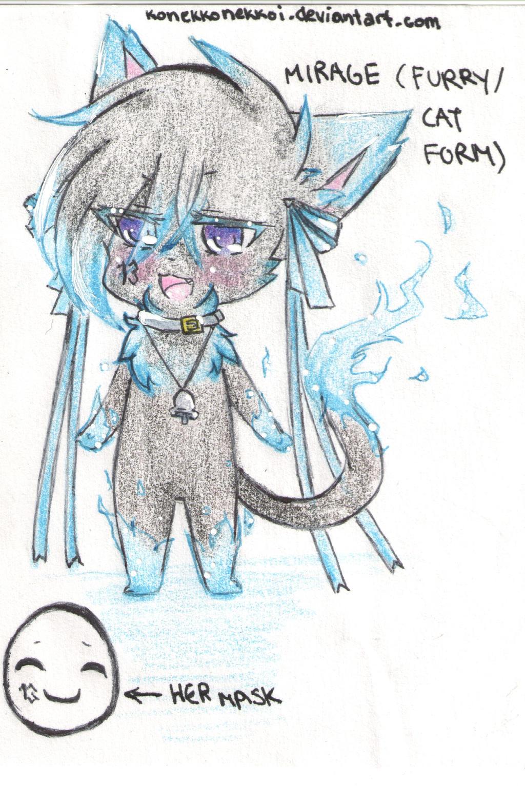 Furry Cat Drawing Rela...